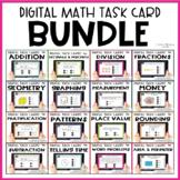 Digital Math Task Card Bundle