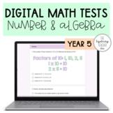 Digital Math Test MEGA Pack - YEAR 5 - Number & Algebra Strand
