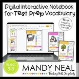 Digital Math Test Prep and Reading Test Prep Vocabulary  