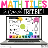Digital Math Tiles: FREEBIE! Addition & Subtraction to 12