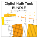 Digital Math Tools Bundle for Distance Learning