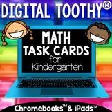 Digital Math Toothy® Task Cards Bundle | Kindergarten | Di