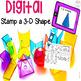 Digital Math and Literacy Center Activities Mega Pack
