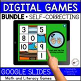 Digital Math and Literacy Games Bundle | Digital Centers |