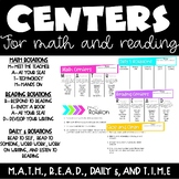 Digital Math and Reading Centers with T.I.M.E rotations
