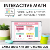 Digital Math for 2.NBT.3 - Base Ten, Expanded Form (Slides + Self-Grading Quiz)