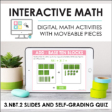 Digital Math for 3.NBT.2 - Addition and Subtraction (Slide