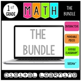 Digital Math Activities for Google Classroom™and Seesaw™ -