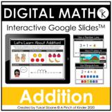 Digital Math for Kindergarten - Addition (Google Slides™)