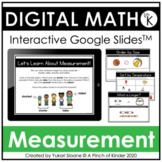 Digital Math for Kindergarten - Non-Standard Measurement (