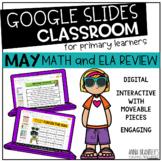 Digital May Math and ELA Review