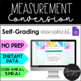 Digital Measurement Conversion for Google Forms- 4.MD.A.1, 5.MD.A.1
