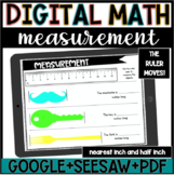 Digital Math//Measurement Practice//Google Slides//DISTANC