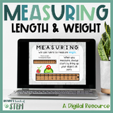 Digital Measuring Length/Weight: Activities for Distance Learning