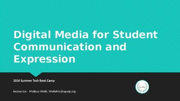 Digital Media Communications Workshop