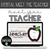 Digital Meet the Teacher Slides - Distance Learning | Goog