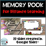 Digital Memory Book - Distance Learning