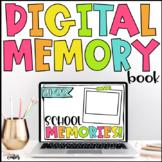 Digital Memory Book End of Year