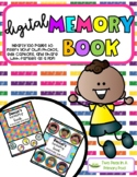 EDITABLE Digital Memory Book - Distance Learning