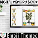 Digital Memory Book | Emoji Themed | Grade Level Covers fo
