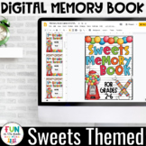 Digital Memory Book | Sweets Themed | Grade Level Covers f