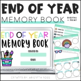 Digital Memory Book | End of the Year | Distance Learning