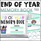 Digital Memory Book | End of the Year Memory Book