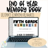 Digital Memory Book   Google Slides   End of Year   Distan