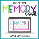 Digital Memory Book | Google Slides Resource | Distance Learning