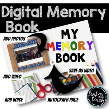 Digital Memory Book: Video & Paper Versions