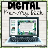 Digital Memory Book for End of Year- Tropical Theme