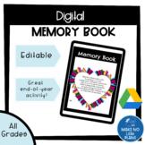 Digital Memory Book - for Google Slides