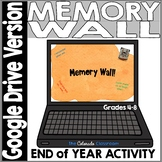 Digital Memory Wall | Distance Learning | End of Year Cele