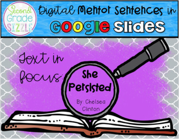 Digital Mentor Sentences- She Persisted