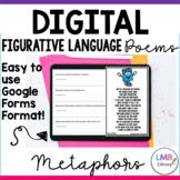 Digital Metaphor Poems with Poetry Comprehension, Distance