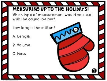 Digital Metric Measurement Review Christmas Pack