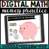 Digital Math//Money Bills & Coins Practice//Google & Seesa