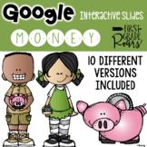 Google Classroom Digital Money Interactive Activities using Google Slides