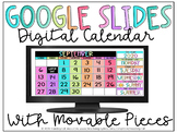 Digital Monthly Calendar for Google Slides & PowerPoint   Distance Learning