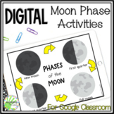 Digital Moon Phases Activities