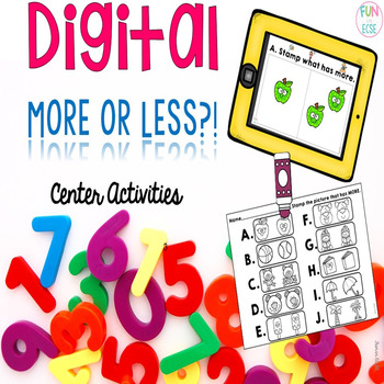 Digital More or Less Center Activities