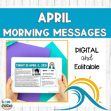 Digital Morning Meaning Messages for April