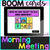 Digital Morning Meeting: Boom Cards:
