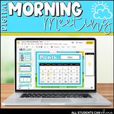 Digital Morning Meeting & Calendar {GOOGLE SLIDES}
