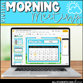 Digital Morning Meeting & Calendar {GOOGLE SLIDES}
