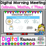 Digital Morning Meeting | For Google Slides™ | Distance Learning