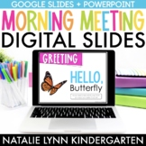Digital Morning Meeting Slides and Activities