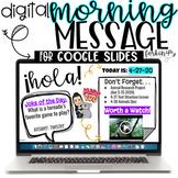 Digital Morning Message (for Google Slides™)