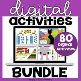 Digital Morning Work | Math Centers BUNDLE for GOOGLE SLIDES