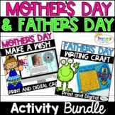 Digital Mother's Day and Father's Day Activities   Mother's Day Craft
